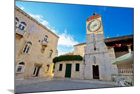 UNESCO Town of Trogir Square-xbrchx-Mounted Photographic Print