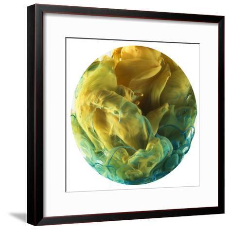 Color Drop World-sanjanjam-Framed Art Print