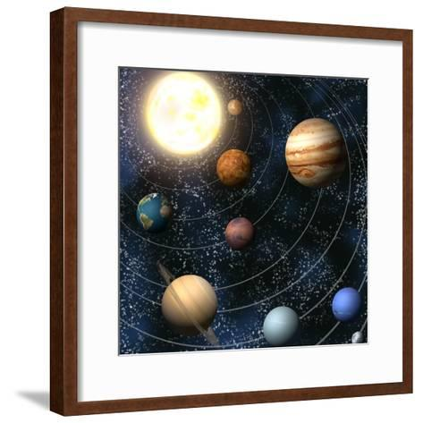Solar System-Christos Georghiou-Framed Art Print