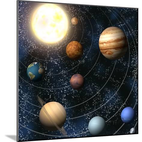 Solar System-Christos Georghiou-Mounted Photographic Print