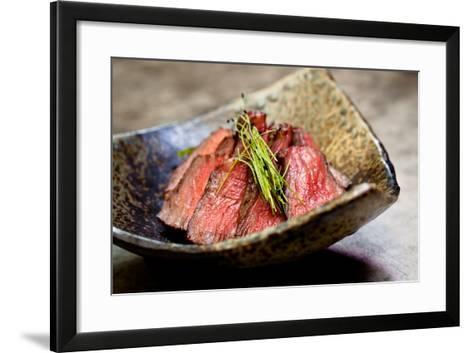 Japanese Beef-EvanTravels-Framed Art Print