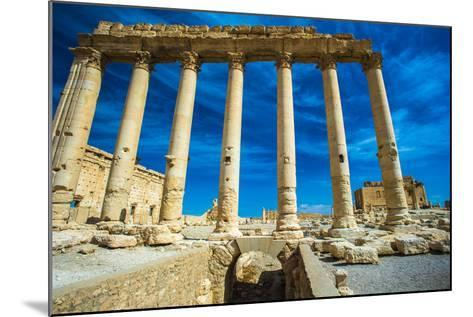 Great Ruins of Palmyra, Syria. UNESCO World Heritage-siempreverde22-Mounted Photographic Print
