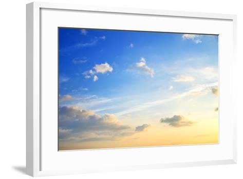 Sunset-tycoon101-Framed Art Print