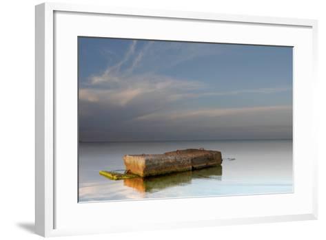 Ilyichevsk Port-vector_master-Framed Art Print