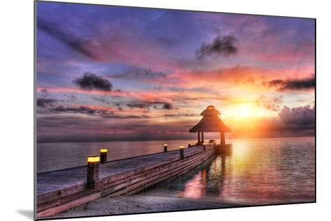 Sunset in the Paradise-Fyle-Mounted Photographic Print