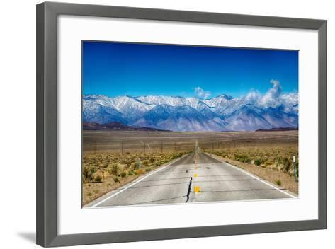 Eastern Sierras-garytog-Framed Art Print