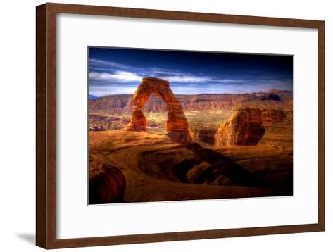 Delicate Arch HDR - Utah, USA-EvanTravels-Framed Art Print