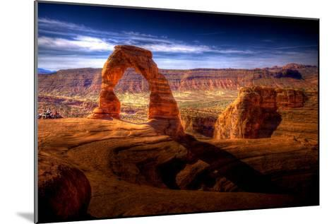 Delicate Arch HDR - Utah, USA-EvanTravels-Mounted Photographic Print