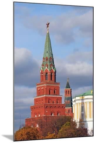 Moscow Kremlin. UNESCO World Heritage Site.-Ekaterina Bykova-Mounted Photographic Print