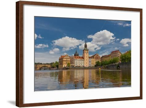 Old Town Water-Tower (1577) in Prague. UNESCO Site- joymsk-Framed Art Print