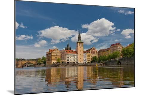 Old Town Water-Tower (1577) in Prague. UNESCO Site- joymsk-Mounted Photographic Print