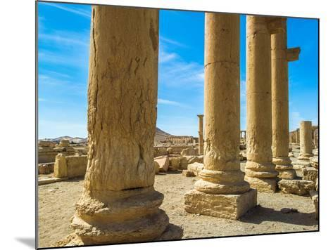 Columns of the Roman Ruins of Palmyra, Syria-siempreverde22-Mounted Photographic Print
