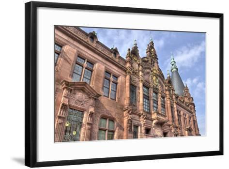 Heidelberg University, Germany-Jan Kranendonk-Framed Art Print
