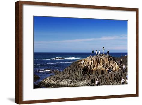 The Famous Giant's Causeway of Northern Ireland-Bartkowski-Framed Art Print