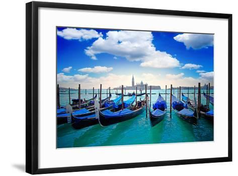 Venice Italy-twindesigner-Framed Art Print