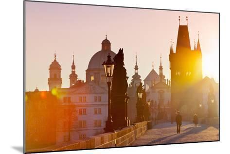Charles Bridge, Old Town, Prague (Unesco), Czech Republic-kaprikfoto-Mounted Photographic Print