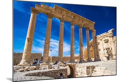 Roman Ruins of Palmyra, Syria.-siempreverde22-Mounted Photographic Print
