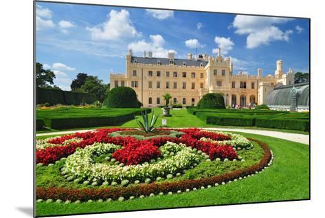 Lednice Chateau, Unesco Heritage- meryll-Mounted Photographic Print