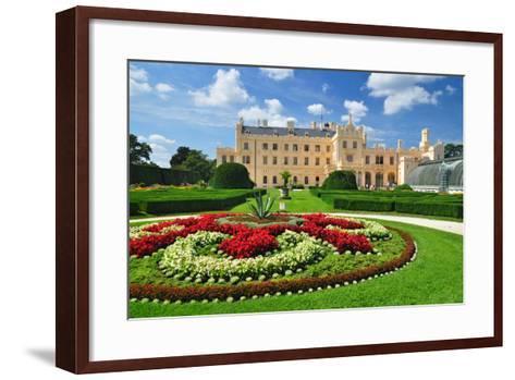 Lednice Chateau, Unesco Heritage- meryll-Framed Art Print