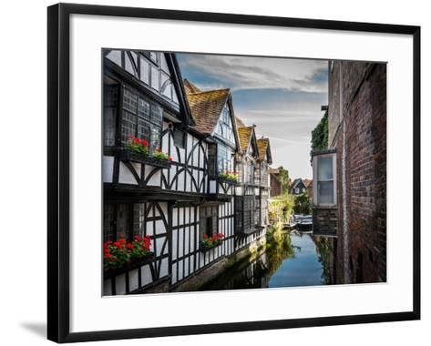 Canterbury River-LevT-Framed Art Print