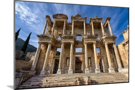 Library of Celsus-salparadis-Mounted Photographic Print