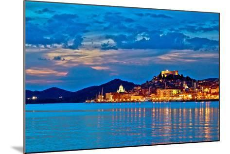 Sibenik Evening Colorful Waterfront View-xbrchx-Mounted Photographic Print