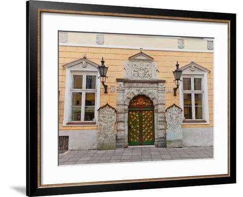 Brotherhood of the Blackheads House in Tallinn, Estonia- joymsk-Framed Art Print
