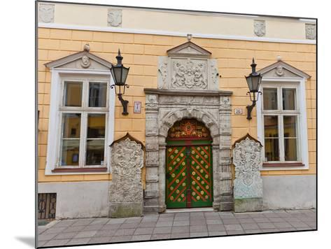 Brotherhood of the Blackheads House in Tallinn, Estonia- joymsk-Mounted Photographic Print