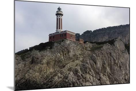 Punta Carena Lighthouse, Capri, Italy- prosiaczeq-Mounted Photographic Print