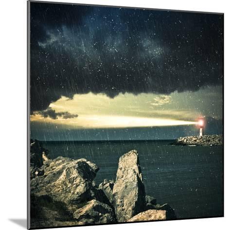 Lighthouse- adempercem-Mounted Photographic Print
