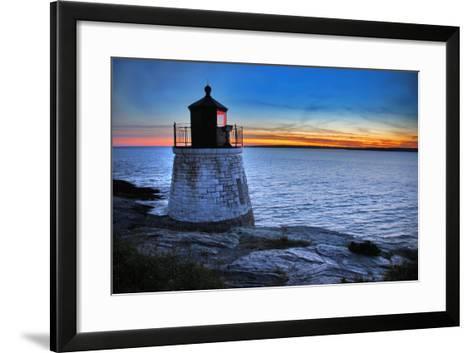 Lighthouse-Stuart Monk-Framed Art Print