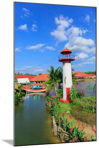 Replica Lighthouse at Hua Hin in Thailand- sarayuth3390-Mounted Photographic Print