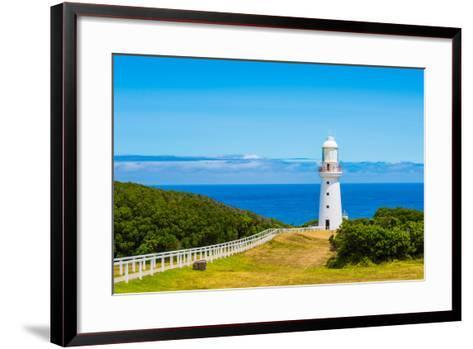 Cape Otway Lighthouse- superjoseph-Framed Art Print