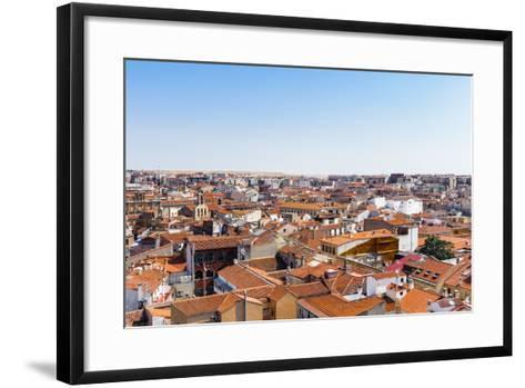 Old City of Salamanca. Spain-siempreverde22-Framed Art Print