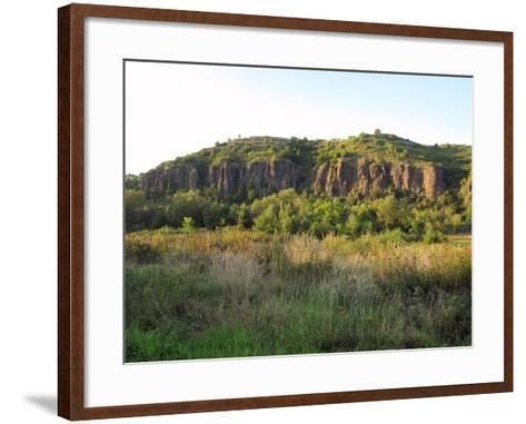 Nähe Rotenfels an Der Nahe- KlausMJan-Framed Art Print