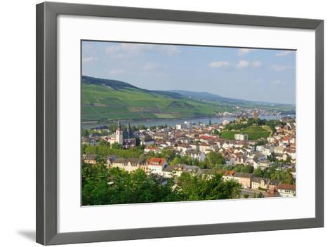 Bingen Am Rhein - Rüdesheim Im Hintergrund-DOC RABE Media-Framed Art Print