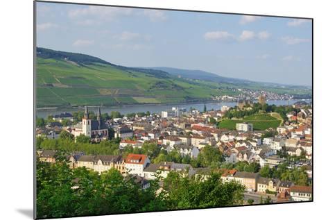 Bingen Am Rhein - Rüdesheim Im Hintergrund-DOC RABE Media-Mounted Photographic Print