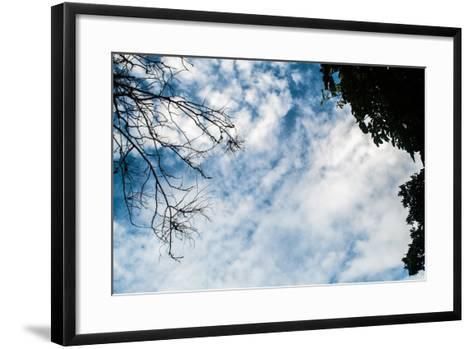 Beautiful Sky / Beautiful Evening Sky- thiraphon-Framed Art Print