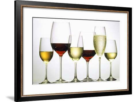 Wines and Champagne-Eising Studio - Food Photo and Video-Framed Art Print