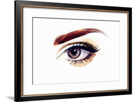 Woman Eye-Anna Ismagilova-Framed Art Print