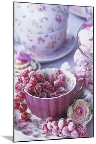 Candied Redcurrants-Elke Borkowski-Mounted Photographic Print