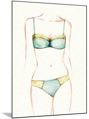 Woman Body. Underwear-Anna Ismagilova-Mounted Photographic Print