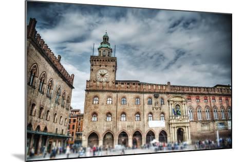 Palazzo D'accursio in Piazza Maggiore, Bologna-Gabriele Maltinti-Mounted Photographic Print