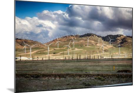 Bakersfield Wind Farm-garytog-Mounted Photographic Print