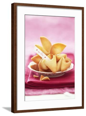 Chinese Fortune Cookies with Motto-Marc O^ Finley-Framed Art Print