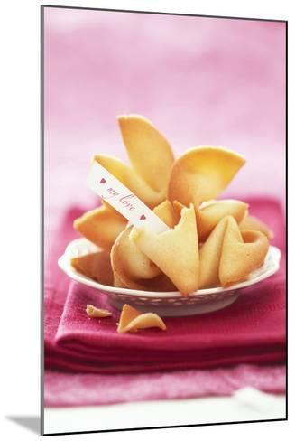 Chinese Fortune Cookies with Motto-Marc O^ Finley-Mounted Photographic Print