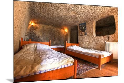 Cave Hotel Room-EvanTravels-Mounted Photographic Print