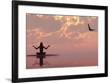 Zen-juanjo tugores-Framed Art Print