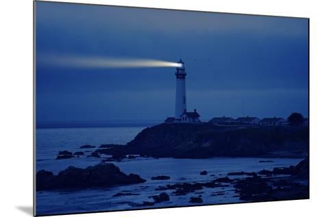 Lighthouse in California-Tomasz Zajda-Mounted Photographic Print