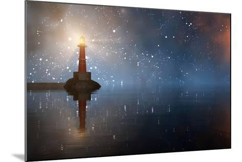 Lighthouse on the Coast-juanjo tugores-Mounted Photographic Print